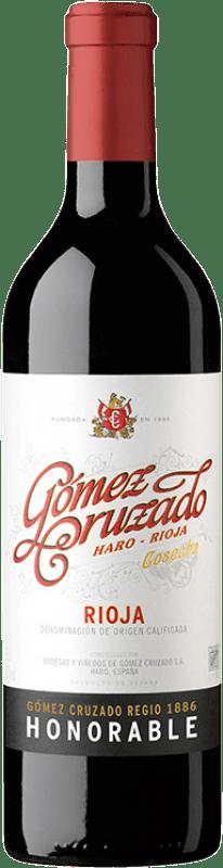 32,95 € | Red wine Gómez Cruzado Honorable Reserva D.O.Ca. Rioja The Rioja Spain Tempranillo, Grenache, Graciano, Mazuelo, Viura Bottle 75 cl