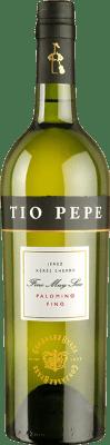 6,95 € Бесплатная доставка   Крепленое вино González Byass Tío Pepe Fino Muy Seco D.O. Manzanilla-Sanlúcar de Barrameda Андалусия Испания Palomino Fino бутылка 75 cl