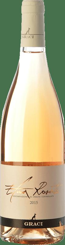 21,95 € | Rosé wine Graci Rosato D.O.C. Etna Sicily Italy Nerello Mascalese Bottle 75 cl