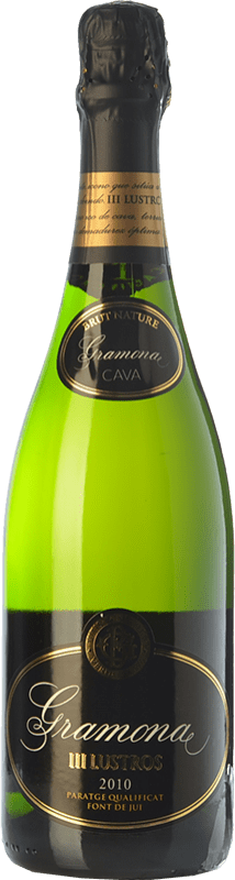 31,95 € | White sparkling Gramona III Lustros Gran Reserva D.O. Cava Catalonia Spain Macabeo, Xarel·lo Bottle 75 cl