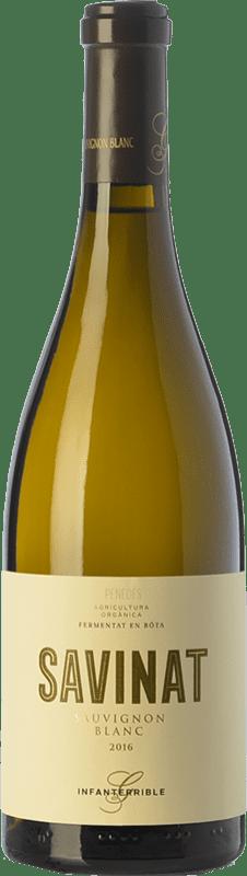 18,95 € 免费送货 | 白酒 Gramona Savinat Ecològic Crianza D.O. Penedès 加泰罗尼亚 西班牙 Sauvignon White 瓶子 75 cl