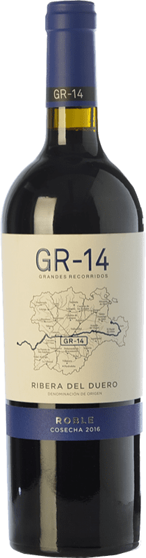 13,95 € | Red wine Gran del Siurana GR-14 Roble D.O. Ribera del Duero Castilla y León Spain Tempranillo Bottle 75 cl