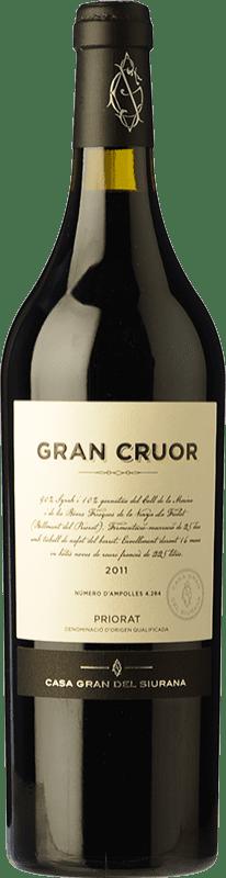 55,95 € 免费送货 | 红酒 Gran del Siurana Gran Cruor Crianza 2010 D.O.Ca. Priorat 加泰罗尼亚 西班牙 Syrah, Carignan 瓶子 75 cl