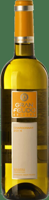 5,95 € Free Shipping | White wine Gran Feudo Edición D.O. Navarra Navarre Spain Chardonnay Bottle 75 cl