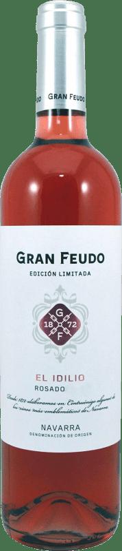 8,95 € Free Shipping | Rosé wine Gran Feudo Edición Limitada Las Lías D.O. Navarra Navarre Spain Tempranillo, Merlot, Grenache Bottle 75 cl