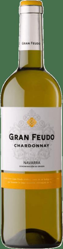 6,95 € Envoi gratuit | Vin blanc Gran Feudo D.O. Navarra Navarre Espagne Chardonnay Bouteille 75 cl