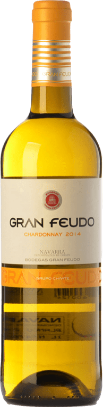 6,95 € Free Shipping | White wine Gran Feudo D.O. Navarra Navarre Spain Chardonnay Bottle 75 cl