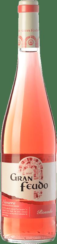 5,95 € Free Shipping | Rosé wine Gran Feudo Joven D.O. Navarra Navarre Spain Grenache Bottle 75 cl