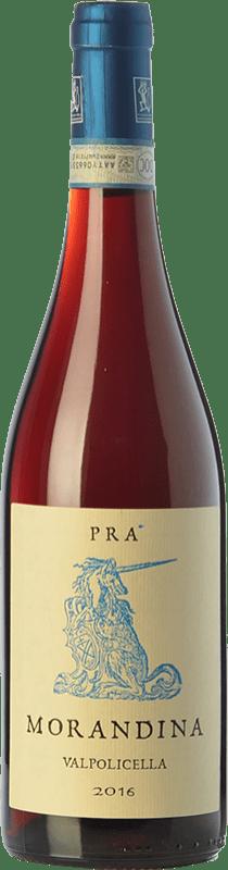 12,95 € Free Shipping | Red wine Graziano Prà Morandina D.O.C. Valpolicella Veneto Italy Corvina, Rondinella, Corvinone, Oseleta Bottle 75 cl