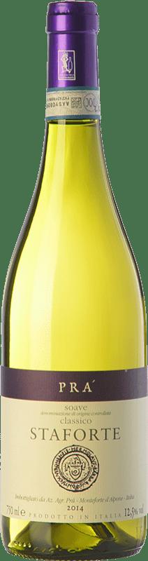 14,95 € Free Shipping | White wine Graziano Prà Prà Staforte D.O.C.G. Soave Classico Veneto Italy Garganega Bottle 75 cl