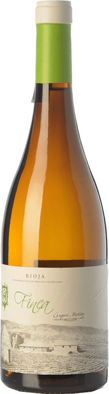 14,95 € | White wine Gregorio Martínez Finca Blanco Crianza D.O.Ca. Rioja The Rioja Spain Viura, Malvasía, Grenache White, Torrontés, Maturana White, Doña Blanca Bottle 75 cl