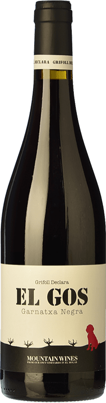 16,95 € Free Shipping | Red wine Grifoll Declara El Gos Joven D.O. Montsant Catalonia Spain Syrah, Grenache, Carignan Magnum Bottle 1,5 L