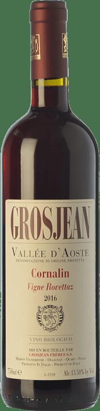 19,95 € | Red wine Grosjean Vigne Rovettaz D.O.C. Valle d'Aosta Valle d'Aosta Italy Cornalin Bottle 75 cl