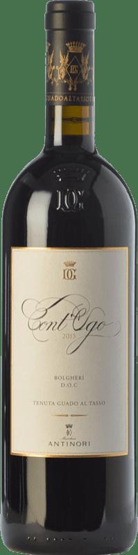 36,95 € Envoi gratuit | Vin rouge Guado al Tasso Cont'Ugo D.O.C. Bolgheri Toscane Italie Merlot Bouteille 75 cl