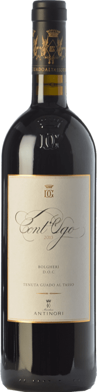 36,95 € Envío gratis   Vino tinto Guado al Tasso Cont'Ugo D.O.C. Bolgheri Toscana Italia Merlot Botella 75 cl