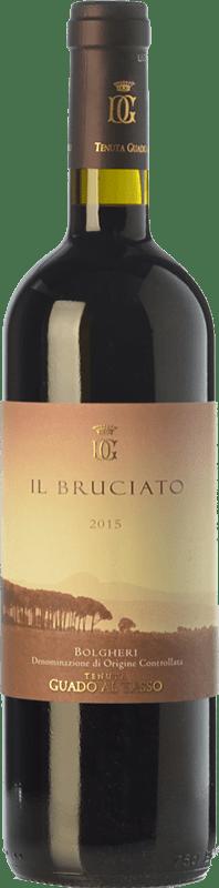 18,95 € | Red wine Guado al Tasso Il Bruciato D.O.C. Bolgheri Tuscany Italy Merlot, Syrah, Cabernet Sauvignon Bottle 75 cl