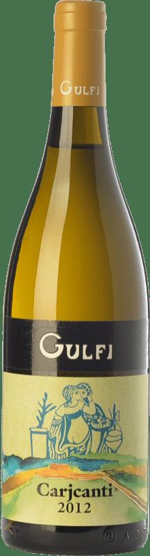 21,95 € Free Shipping | White wine Gulfi Carjcanti I.G.T. Terre Siciliane Sicily Italy Carricante Bottle 75 cl