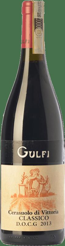 17,95 € Free Shipping | Red wine Gulfi Classico D.O.C.G. Cerasuolo di Vittoria Sicily Italy Nero d'Avola, Frappato Bottle 75 cl