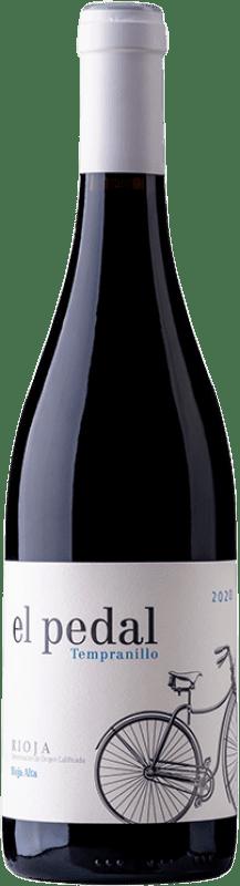 7,95 € Envío gratis | Vino tinto Hernáiz El Pedal Joven D.O.Ca. Rioja La Rioja España Tempranillo Botella 75 cl
