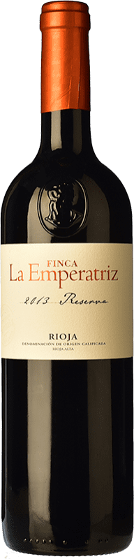 16,95 € | Red wine Hernáiz La Emperatriz Reserva D.O.Ca. Rioja The Rioja Spain Tempranillo, Grenache, Graciano, Viura Bottle 75 cl