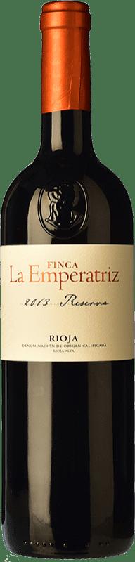 16,95 € Envío gratis | Vino tinto Hernáiz La Emperatriz Reserva D.O.Ca. Rioja La Rioja España Tempranillo, Garnacha, Graciano, Viura Botella 75 cl