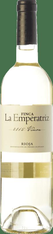 7,95 € Envío gratis | Vino blanco Hernáiz La Emperatriz D.O.Ca. Rioja La Rioja España Viura Botella 75 cl