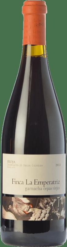24,95 € 免费送货 | 红酒 Hernáiz La Emperatriz Cepas Viejas Crianza D.O.Ca. Rioja 拉里奥哈 西班牙 Grenache 瓶子 75 cl