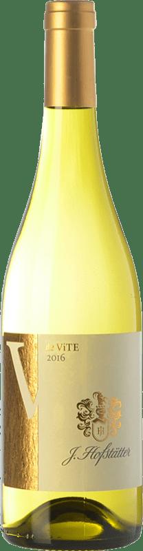 12,95 € | White wine Hofstätter De Vite D.O.C. Alto Adige Trentino-Alto Adige Italy Riesling, Pinot White, Sauvignon, Müller-Thurgau Bottle 75 cl