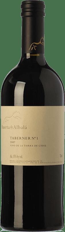 83,95 € Envoi gratuit | Vin rouge Huerta de Albalá Taberner Nº 1 Crianza 2007 I.G.P. Vino de la Tierra de Cádiz Andalousie Espagne Merlot, Syrah, Cabernet Sauvignon Bouteille 75 cl