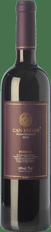 9,95 € | Red wine Huguet de Can Feixes Negre Selecció Joven D.O. Penedès Catalonia Spain Tempranillo, Merlot, Cabernet Sauvignon, Petit Verdot Bottle 75 cl