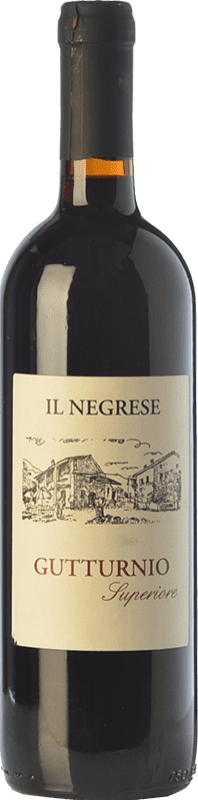 11,95 € Free Shipping | Red wine Il Negrese Fermo D.O.C. Gutturnio Emilia-Romagna Italy Barbera, Croatina Bottle 75 cl