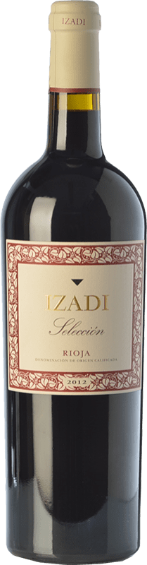 Red wine Izadi Selección Reserva 2013 D.O.Ca. Rioja The Rioja Spain Tempranillo, Graciano Bottle 75 cl