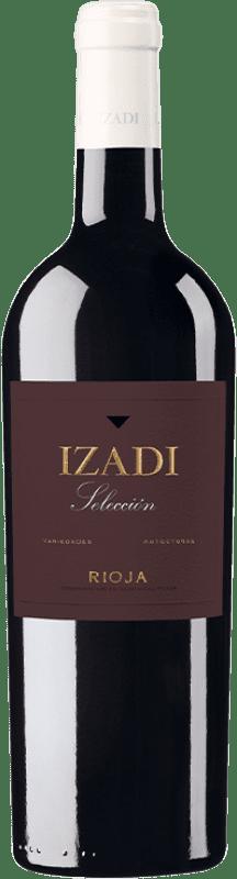 13,95 € Envío gratis | Vino tinto Izadi Selección Reserva D.O.Ca. Rioja La Rioja España Tempranillo, Graciano Botella 75 cl