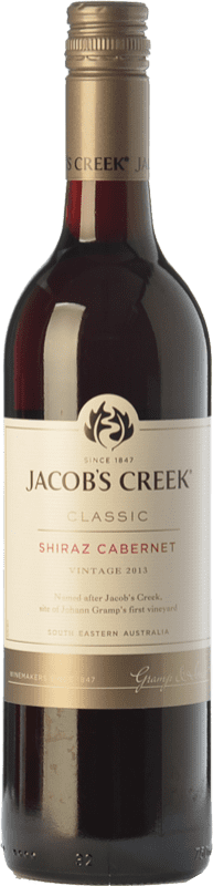 8,95 € | Red wine Jacobs Creek Classic Joven I.G. Southern Australia Southern Australia Australia Syrah, Cabernet Sauvignon Bottle 75 cl