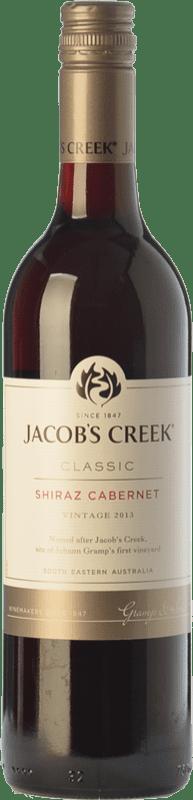 9,95 € Free Shipping | Red wine Jacobs Creek Classic Joven I.G. Southern Australia Southern Australia Australia Syrah, Cabernet Sauvignon Bottle 75 cl