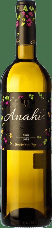 8,95 € Envío gratis   Vino blanco San Pedro Ortega Anahí D.O.Ca. Rioja La Rioja España Malvasía, Tempranillo Blanco, Sauvignon Blanca Botella 75 cl