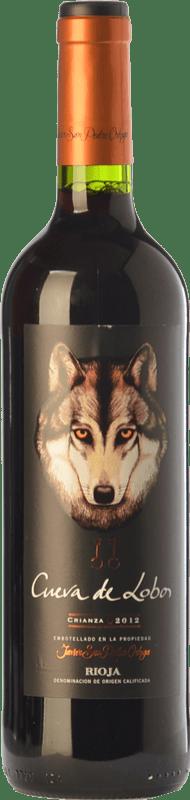 13,95 € Envío gratis   Vino tinto San Pedro Ortega Cueva de Lobos Crianza D.O.Ca. Rioja La Rioja España Tempranillo Botella Mágnum 1,5 L