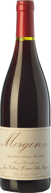 25,95 € | Red wine Foillard Classique Joven A.O.C. Morgon Beaujolais France Gamay Bottle 75 cl