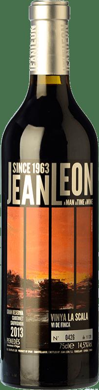 49,95 € Free Shipping | Red wine Jean Leon Vinya La Scala Gran Reserva D.O. Penedès Catalonia Spain Cabernet Sauvignon Bottle 75 cl