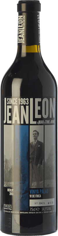 26,95 € | Red wine Jean Leon Vinya Palau Crianza D.O. Penedès Catalonia Spain Merlot Bottle 75 cl