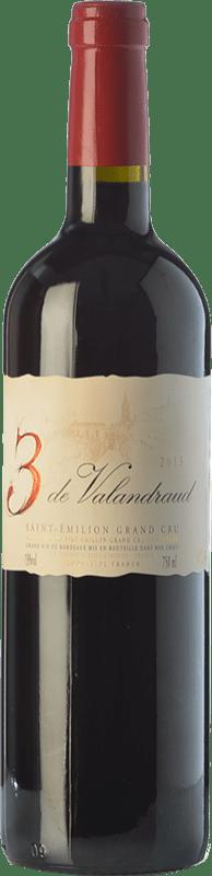 25,95 € Free Shipping | Red wine Jean-Luc Thunevin 3 de Valandraud Crianza A.O.C. Saint-Émilion Grand Cru Bordeaux France Merlot, Cabernet Sauvignon, Cabernet Franc, Malbec Bottle 75 cl