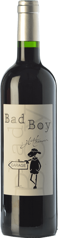 26,95 € Free Shipping | Red wine Jean-Luc Thunevin Bad Boy Joven France Merlot, Cabernet Franc Bottle 75 cl