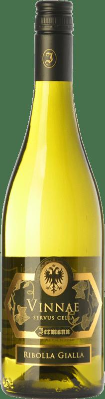 25,95 € Envío gratis | Vino blanco Jermann Vinnae I.G.T. Friuli-Venezia Giulia Friuli-Venezia Giulia Italia Riesling, Ribolla Gialla, Tocai Friulano Botella 75 cl