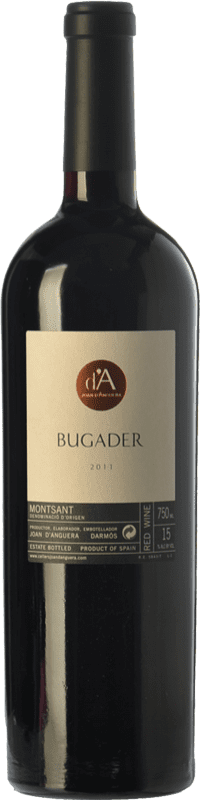 38,95 € | Red wine Joan d'Anguera Bugader Crianza D.O. Montsant Catalonia Spain Syrah, Grenache Bottle 75 cl