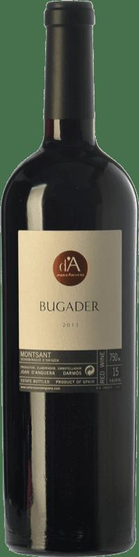 38,95 € Envío gratis | Vino tinto Joan d'Anguera Bugader Crianza D.O. Montsant Cataluña España Syrah, Garnacha Botella 75 cl