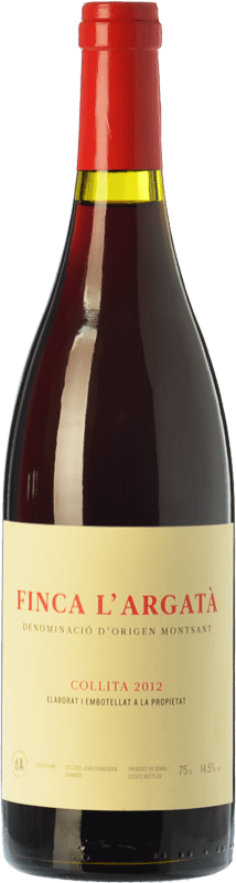 29,95 € | Red wine Joan d'Anguera Finca l'Argatà Crianza D.O. Montsant Catalonia Spain Syrah, Grenache Bottle 75 cl