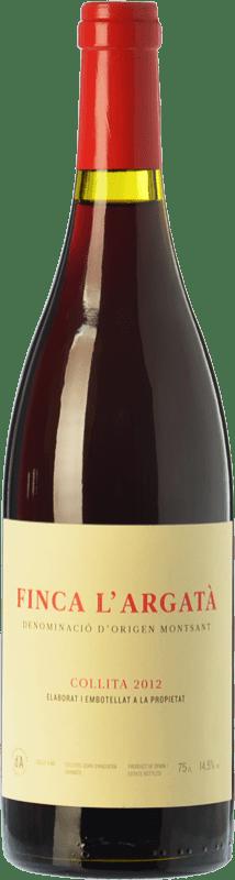 29,95 € Envío gratis | Vino tinto Joan d'Anguera Finca l'Argatà Crianza D.O. Montsant Cataluña España Syrah, Garnacha Botella 75 cl