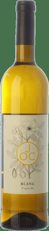 8,95 € Free Shipping | White wine JOC Blanc D.O. Empordà Catalonia Spain Grenache White, Macabeo Bottle 75 cl