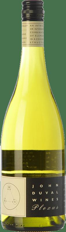 37,95 € Free Shipping | White wine John Duval Plexus White Crianza I.G. Barossa Valley Barossa Valley Australia Roussanne, Viognier, Marsanne Bottle 75 cl