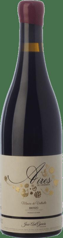 27,95 € Free Shipping | Red wine José Antonio García Aires de Vendimia Crianza D.O. Bierzo Castilla y León Spain Mencía Bottle 75 cl